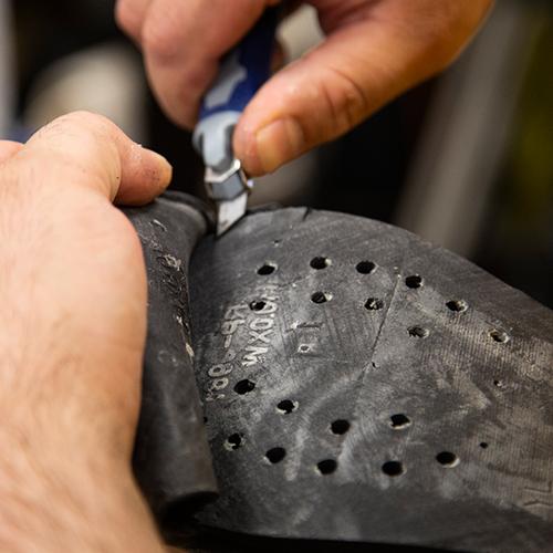 Shoe Repair process